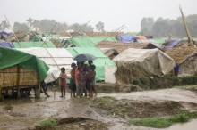 Myanmar authorities move refugees to safe places for Cyclone Mahasen